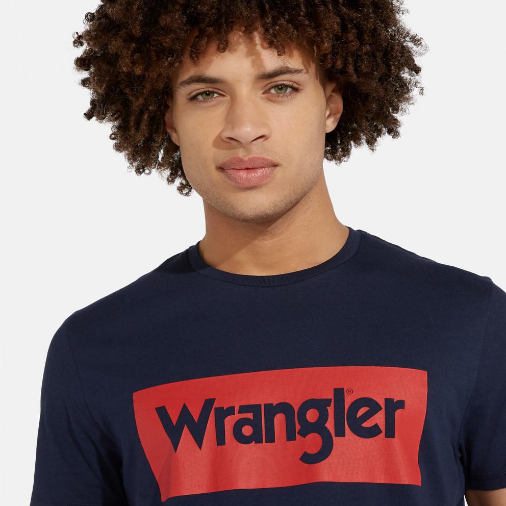 Wrangler Short SLeeve Logo Men's Tee