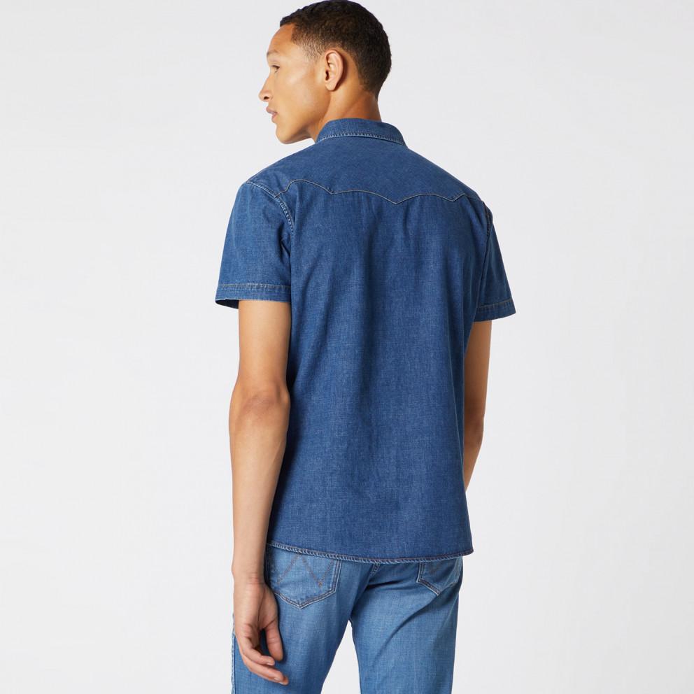 Wrangler Men'S Short SLeeve Western Shirt