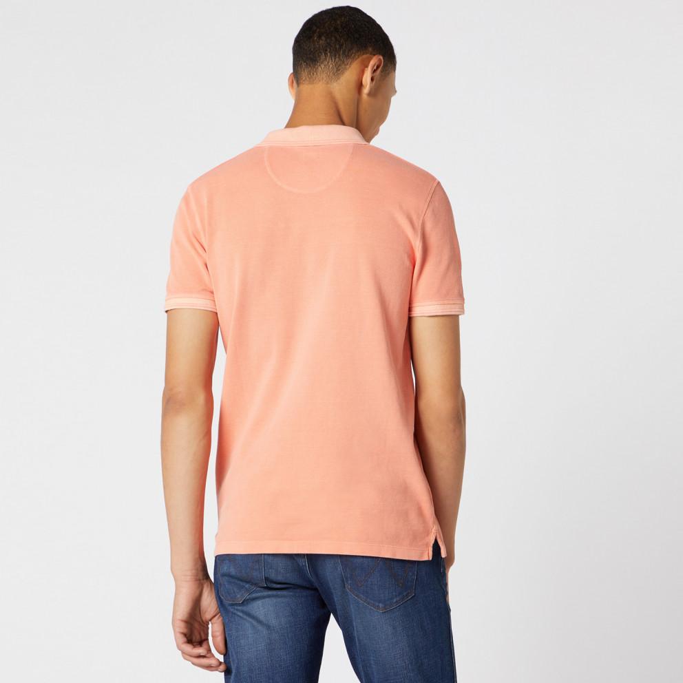 Wrangler Men'S ShortsLeeve Overdye Polo Shirt