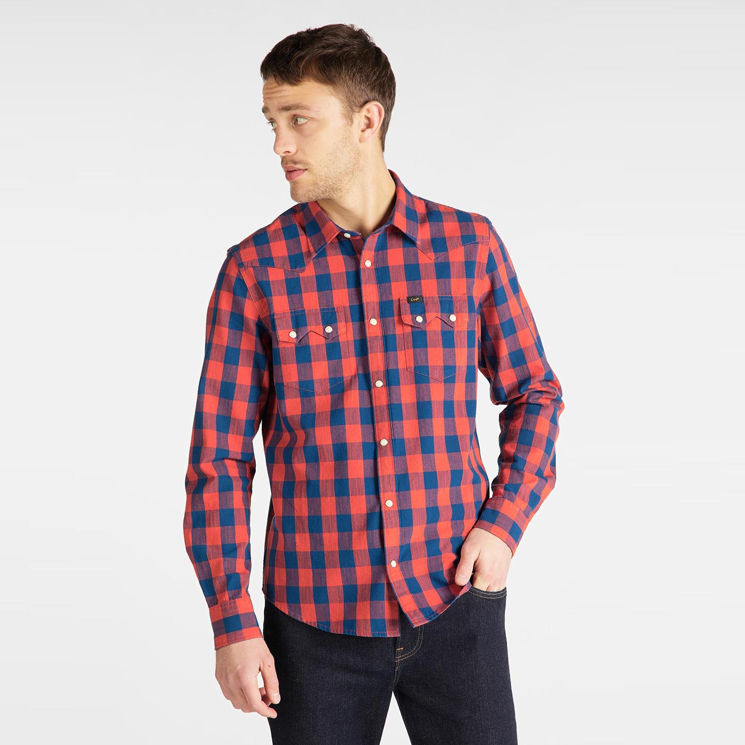 Lee Rider Men's Shirt (9000049896_2082)