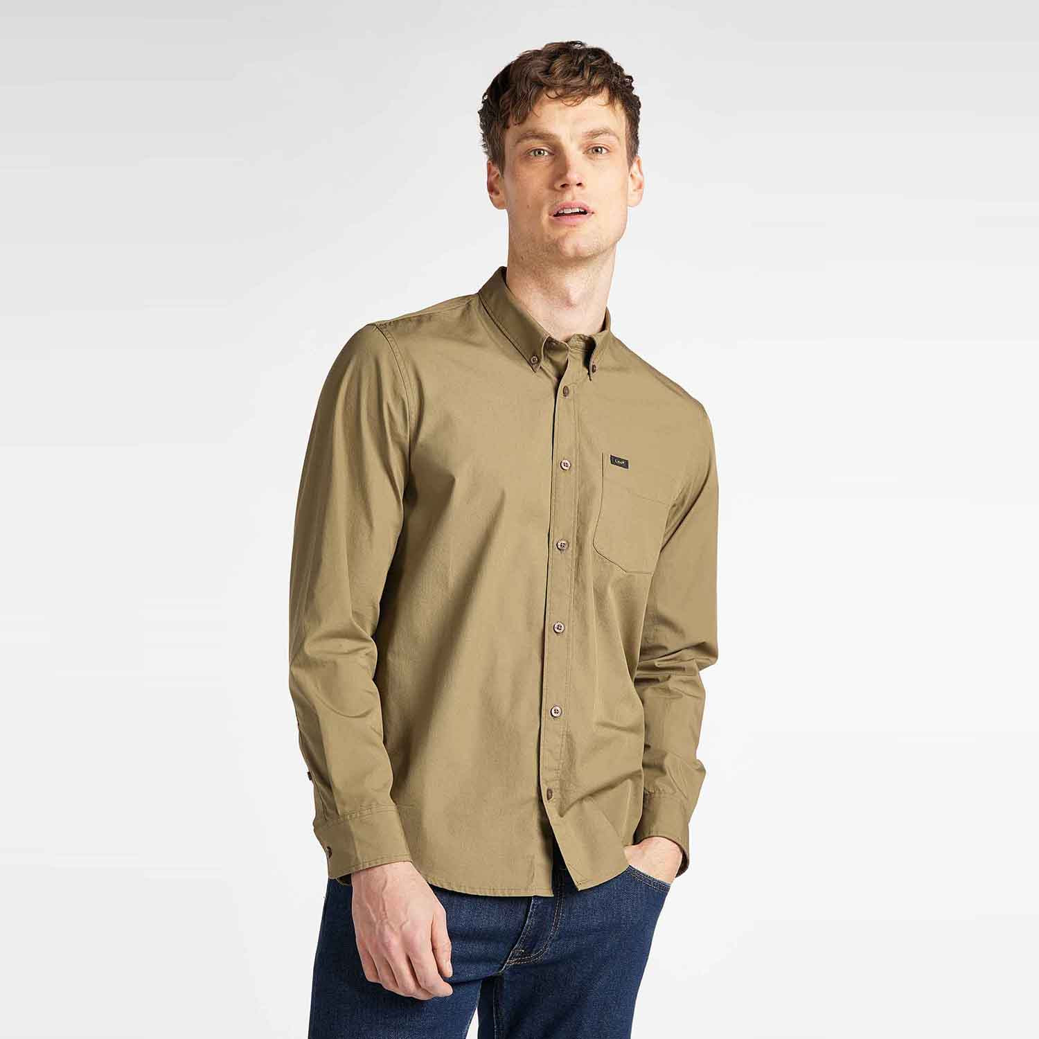 Lee Men'S Button Down Shirt (9000049902_44734)