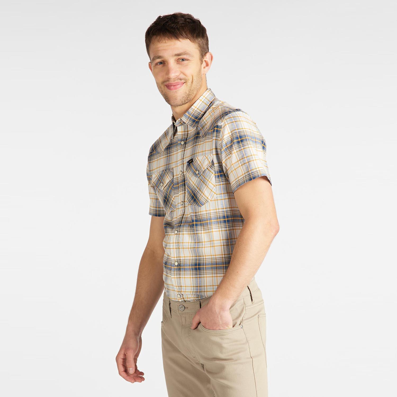 Lee Men'S Western Short SLeeve Shirt (9000049912_1726)