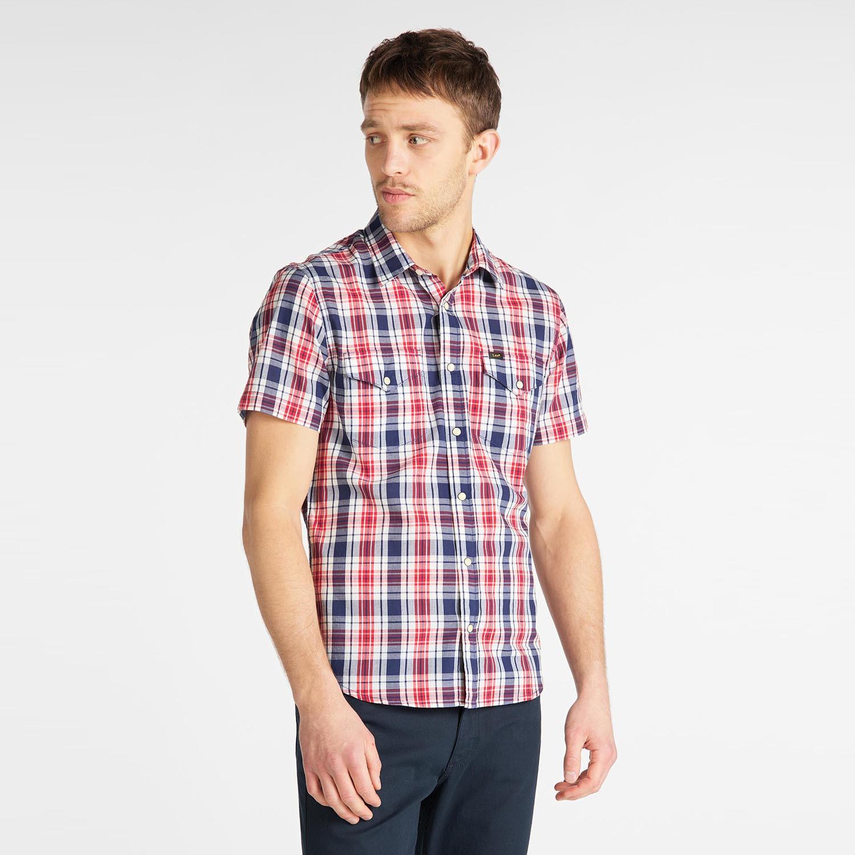 Lee Men'S Western Short SLeeve Shirt (9000049914_6117)