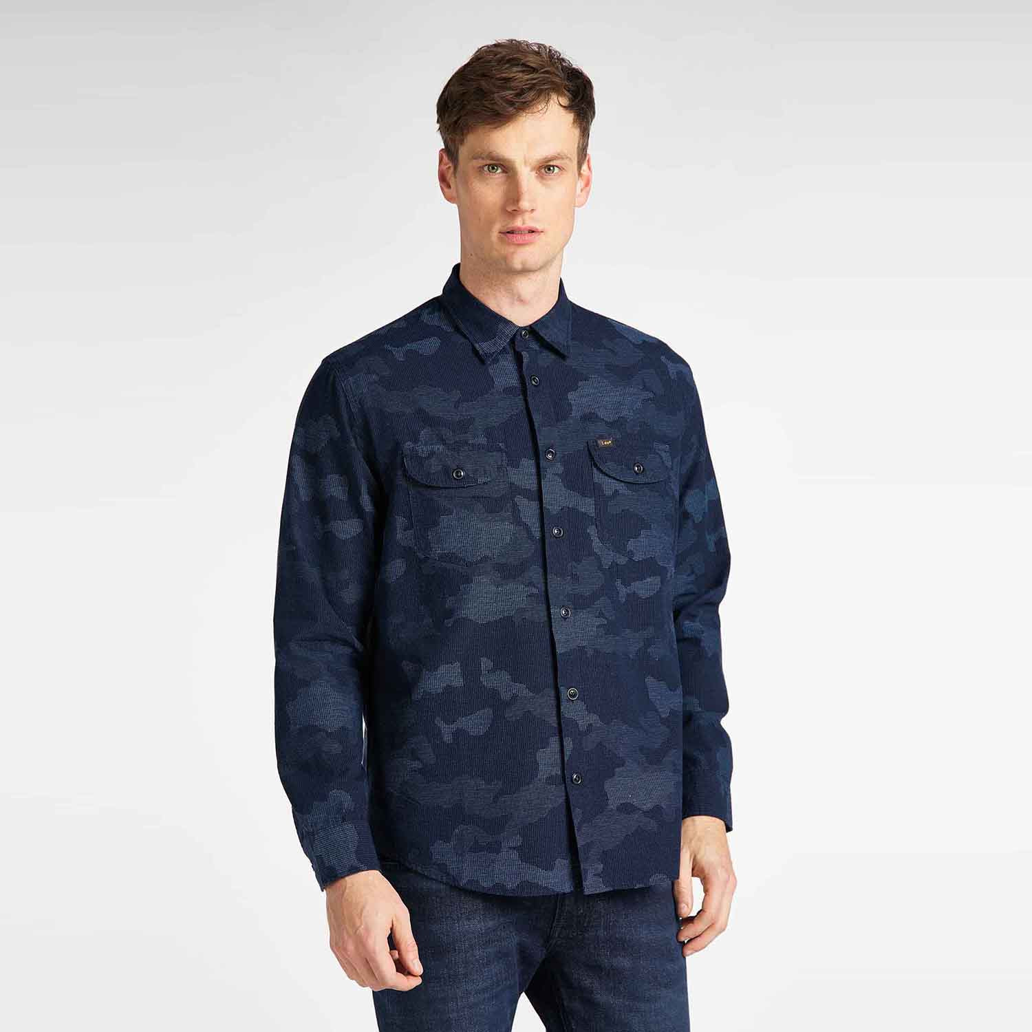 Lee Men's Worket Shirt (9000049974_4594)