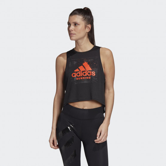 adidas Performance Fast Graphic Women's Crop Top
