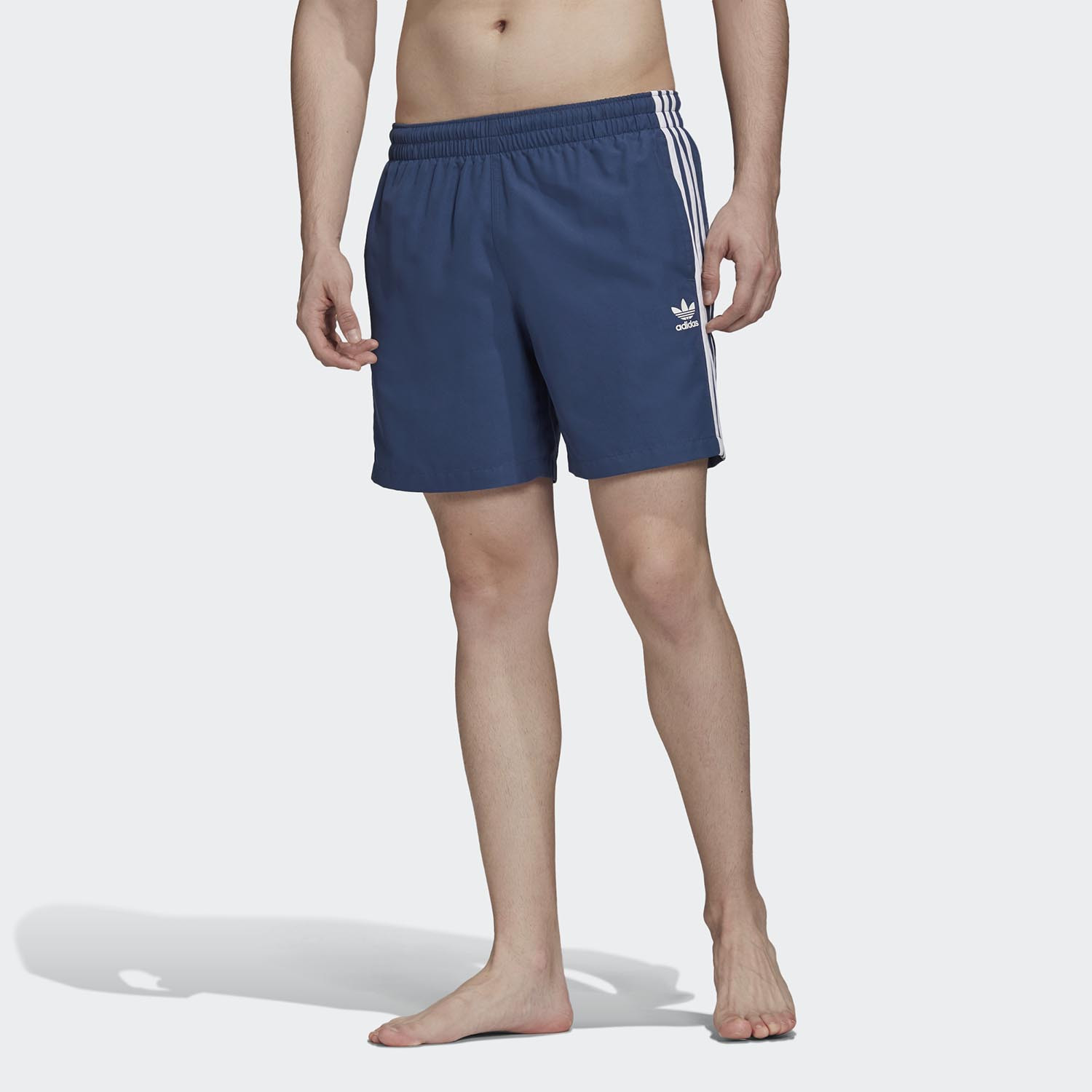adidas Originals Men's 3-Stripes Swim Shorts (9000045721_43523)