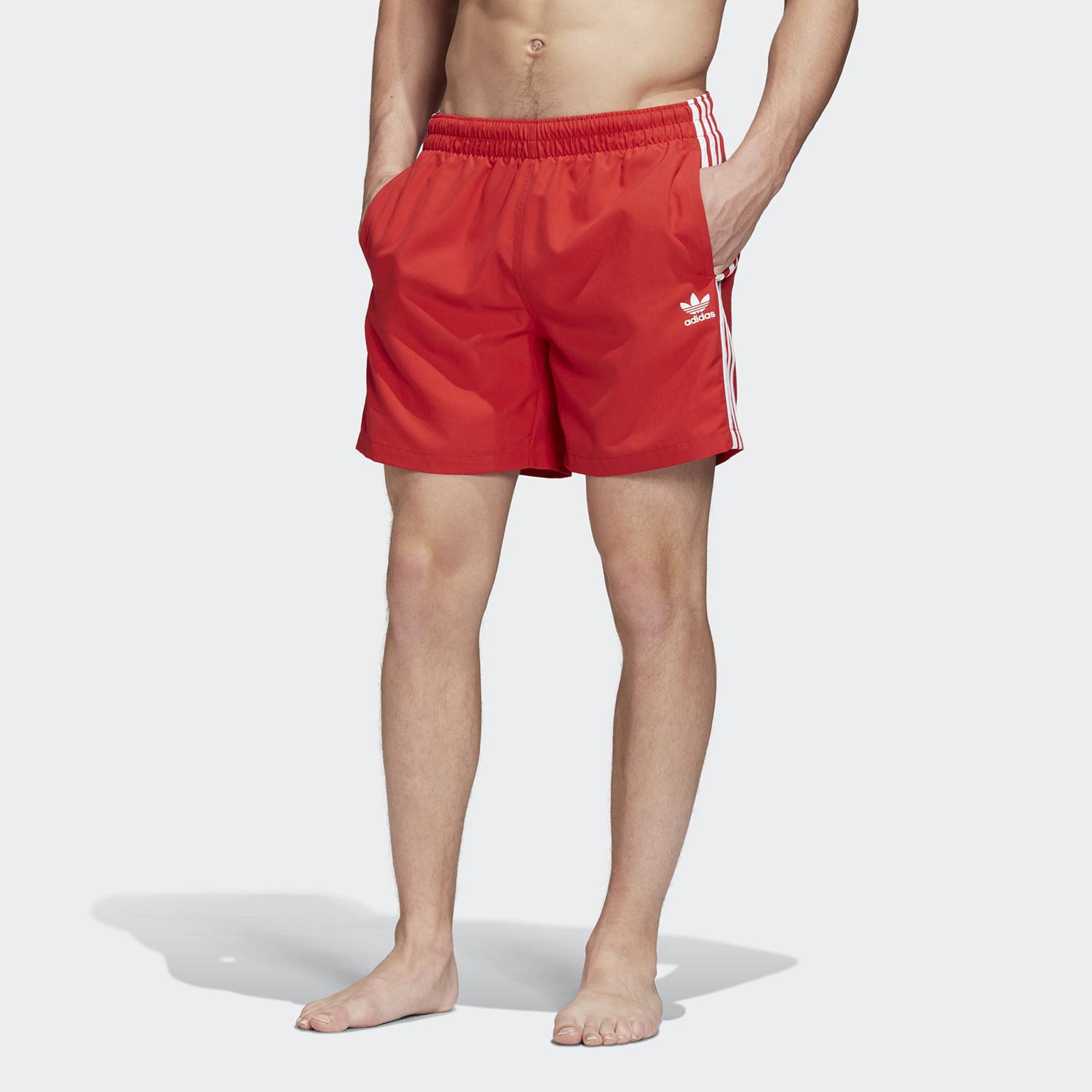 adidas Originals Men's 3-Stripes Swim Shorts (9000045724_18021)