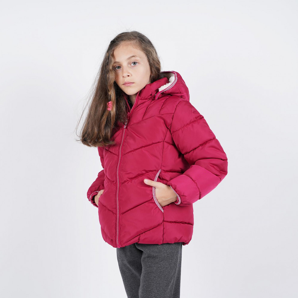 Name It Girls Nkfmus Puffer Jacket Camp