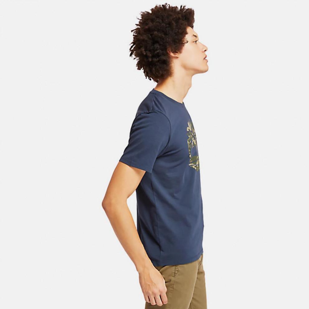 Timberland Kennebec River Seasonal Pattern Bran T-Shirt