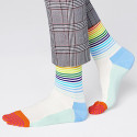 Happy Socks Half-Stripe Unisex Socks