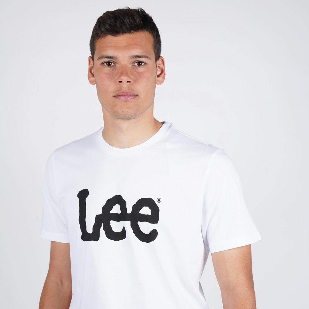 Lee Wobbly Logo Men's Tee