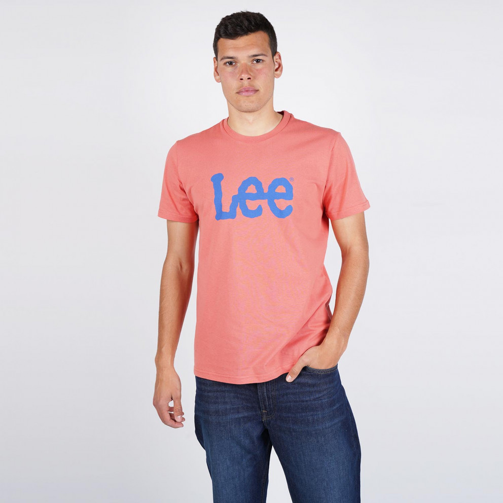 Lee Wobbly Logo Men's Tee