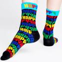 Happy Socks Jumbo Text Unisex Socks