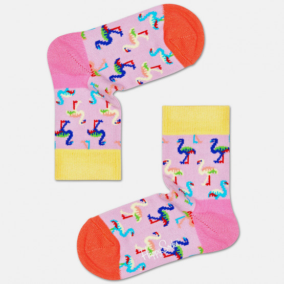 Happy Socks Flamingo Kids' Socks