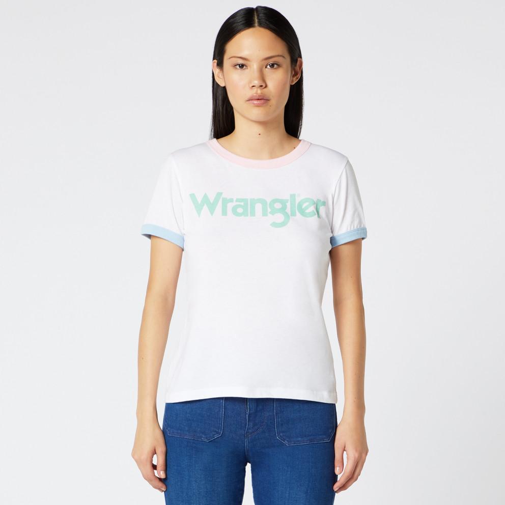 Wrangler Women's Ringer Tee