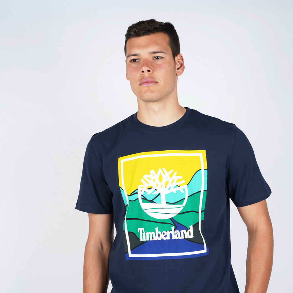 Timberland Men'S Short SLeeve Kennebec River Horizon Graphic Tee