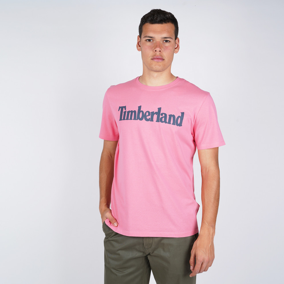Timberland Kennebec River Brand Linear Men's Tee