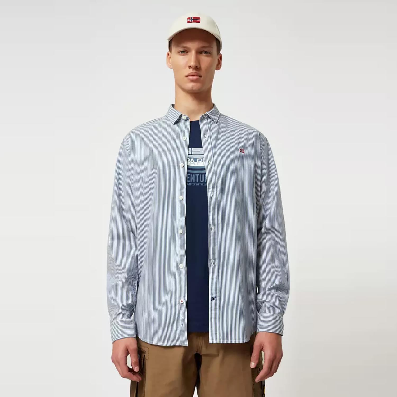 Napapijri Gode Long-SLeeve Men's Shirt (9000047641_44145)