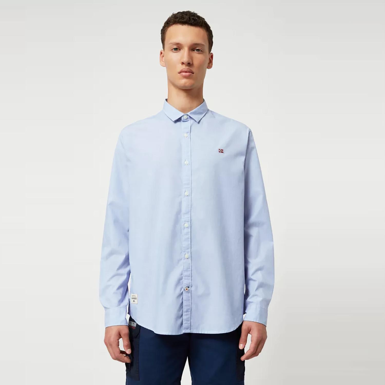 Napapijri Gode Long-Sleeve Men's Shirt (9000047643_44147)