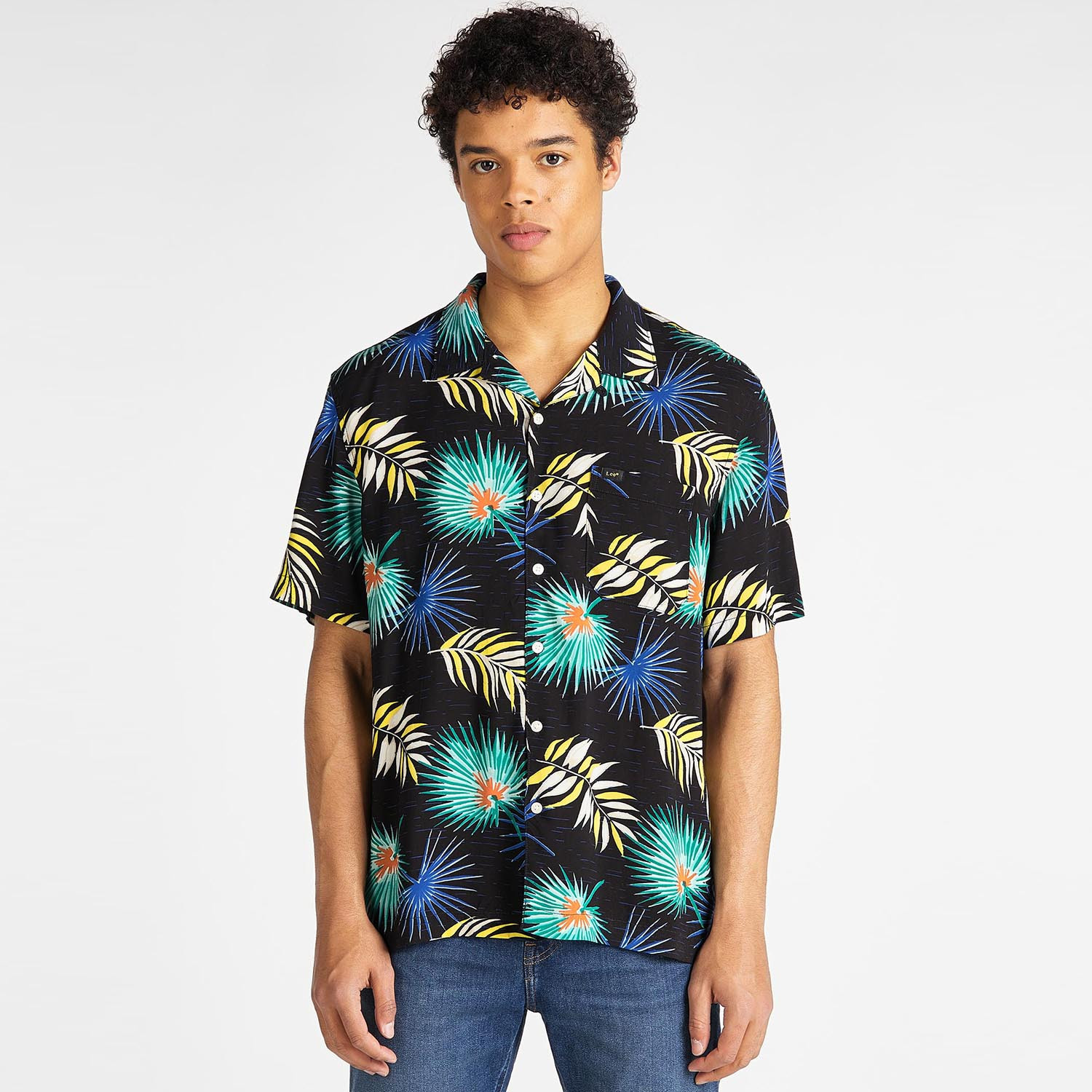 Lee Men's Short SLeeve Resort Shirt (9000049920_44737)