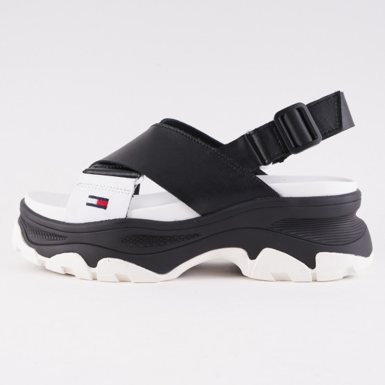 Tommy Jeans Colour-Blocked Women's Chunky Sandals