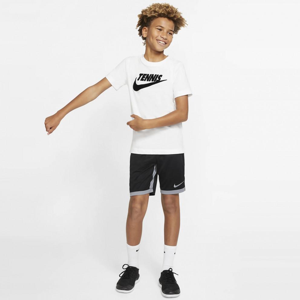 Nike Court Dri-FIT Graphic Boys' Tennis T-Shirt
