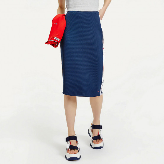 Tommy Jeans Logo Tape Women's Midi Skirt