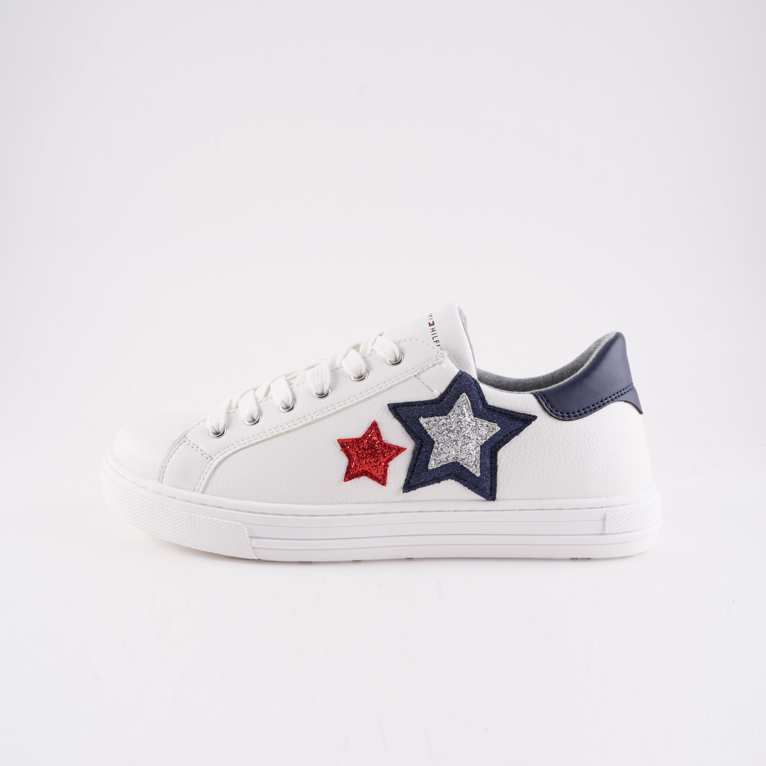 Tommy Jeans Star Applique Low-Top Trainers (9000051081_19815)