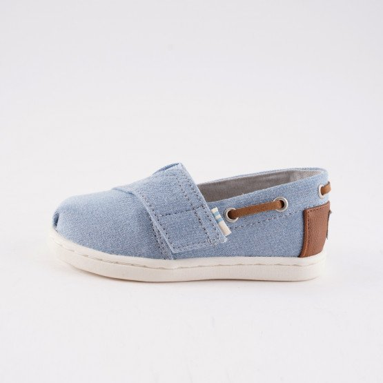 TOMS Navy Denim Infants' Espadrilles