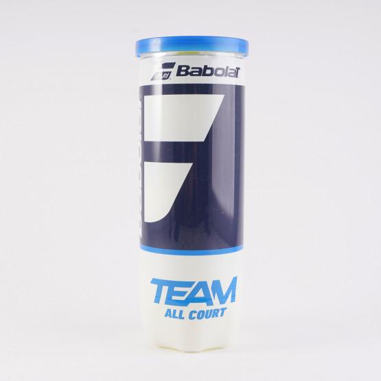 Babolat Team All Court Tennis Balls (3 Ball Can)