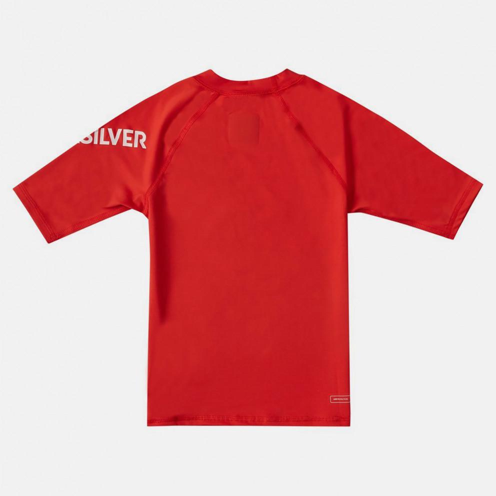 Quiksilver Kids' Tee Upf 50 Rash Vest