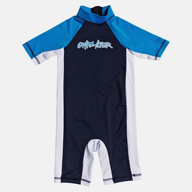 Quiksilver Kids' Spring Short Sleeve UPF 50 Rash Vest (9000050424_22921)