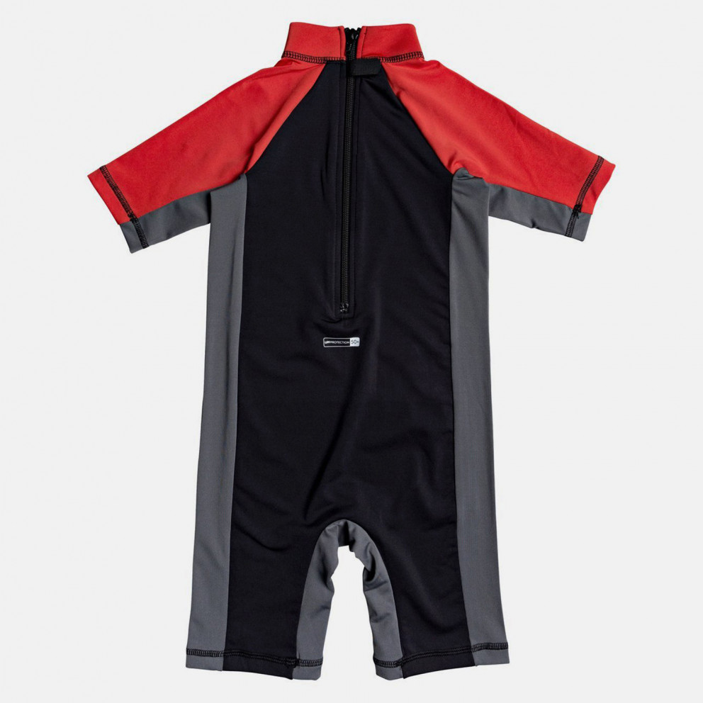 Quiksilver Kids' Spring Short SLeeve Upf 50 Rash Vest