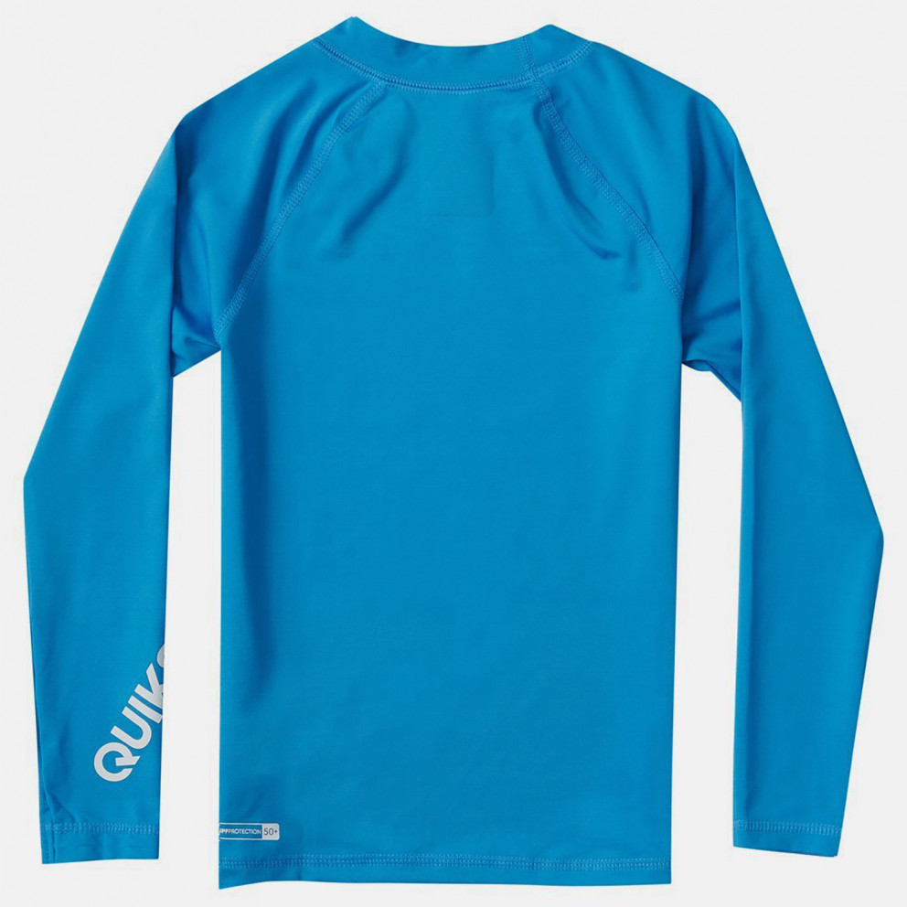 Quiksilver Kids' Long SLeeve Upf 50 Rash Vest