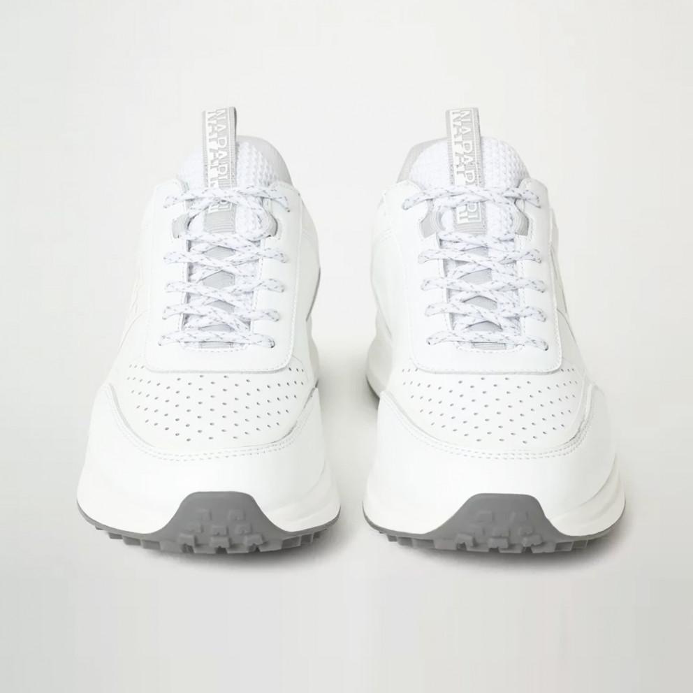 Napapijri Slate Leather Men's Shoes