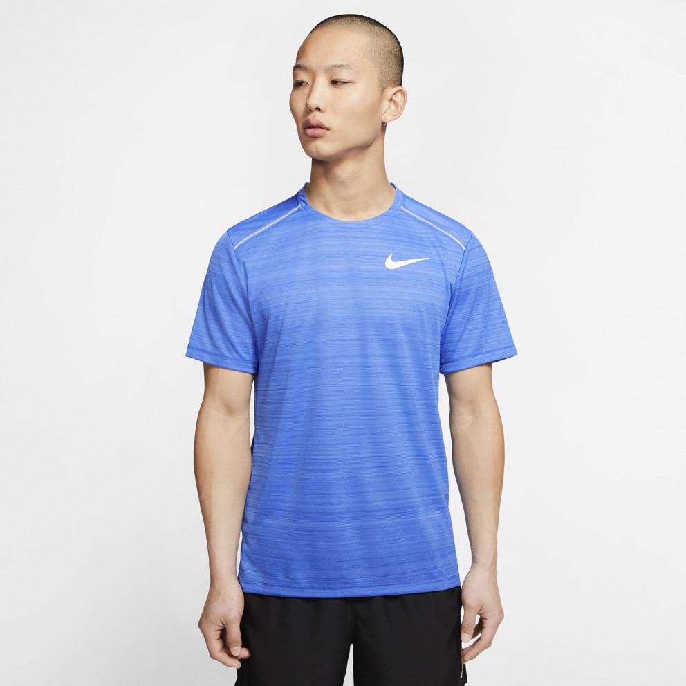 Nike Dri-Fit Miler Men'S Short-SLeeve Running Top