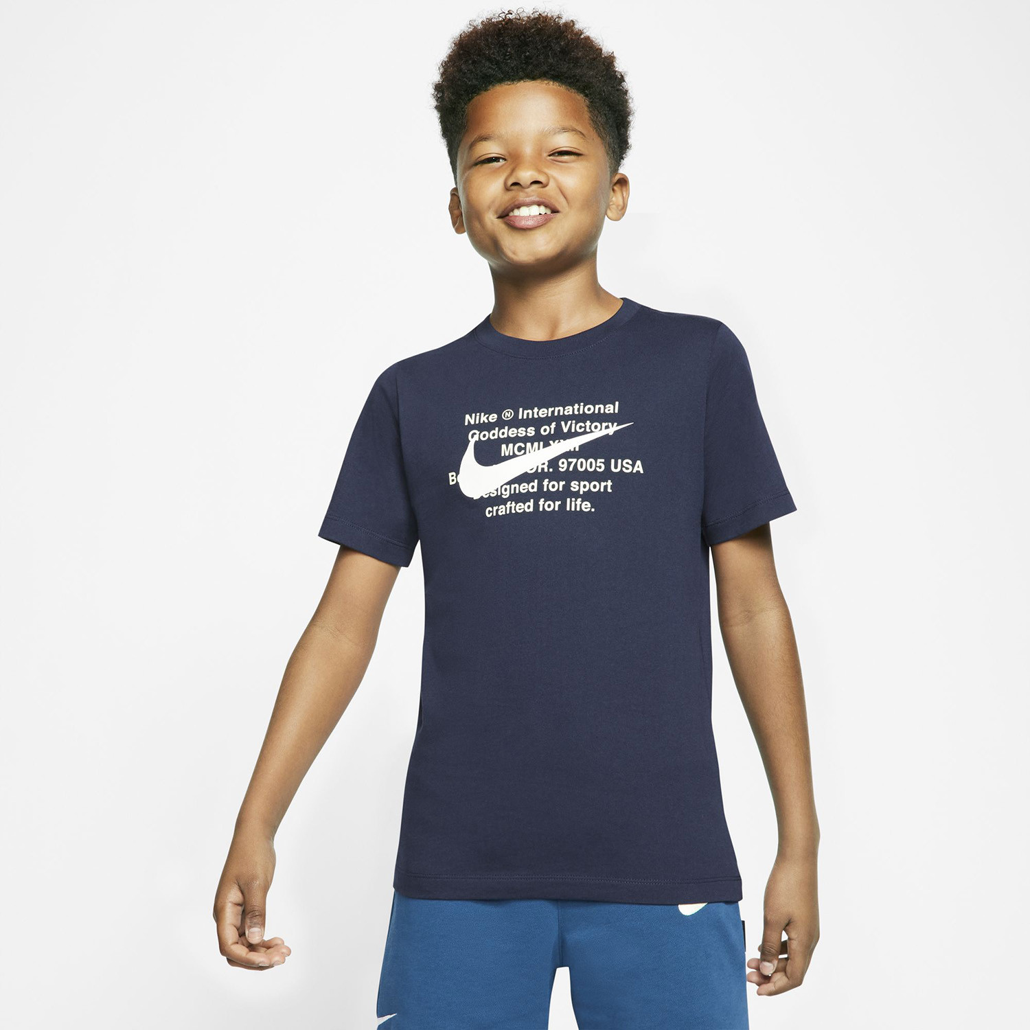 Nike Sportswear Swoosh For Life Kids' T-Shirt (9000052594_12905)