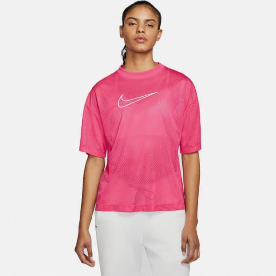 Nike W Nsw Mesh Top Ss