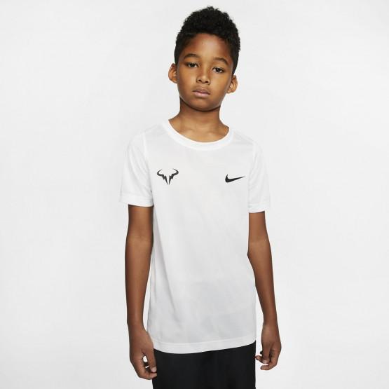 Nike Court Rafa Dri-Fit Tennis Boy's T-Shirt
