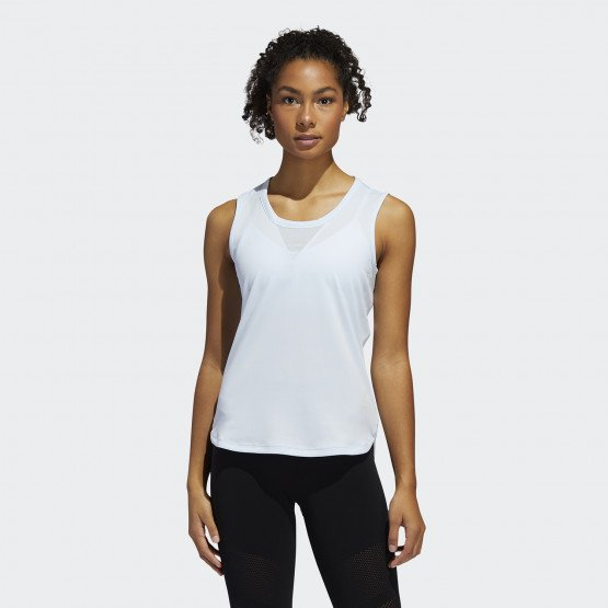 adidas Heat.Rdy Tank 3-Stripes Top