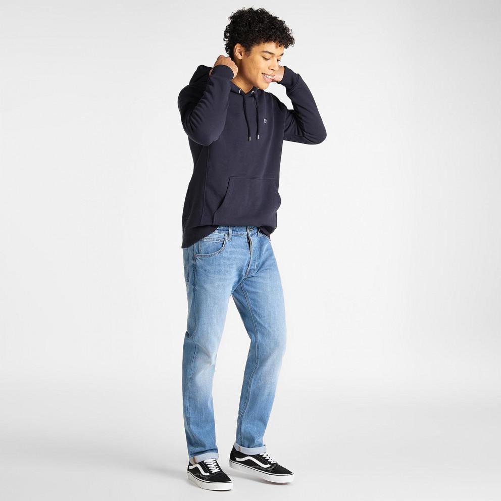 Lee Plain Ανδρική Μπλούζα Φούτερ με Κουκούλα