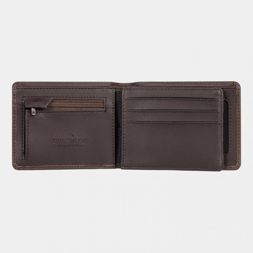 Quiksilver Mack X Leather Bi-Fold Men's Wallet