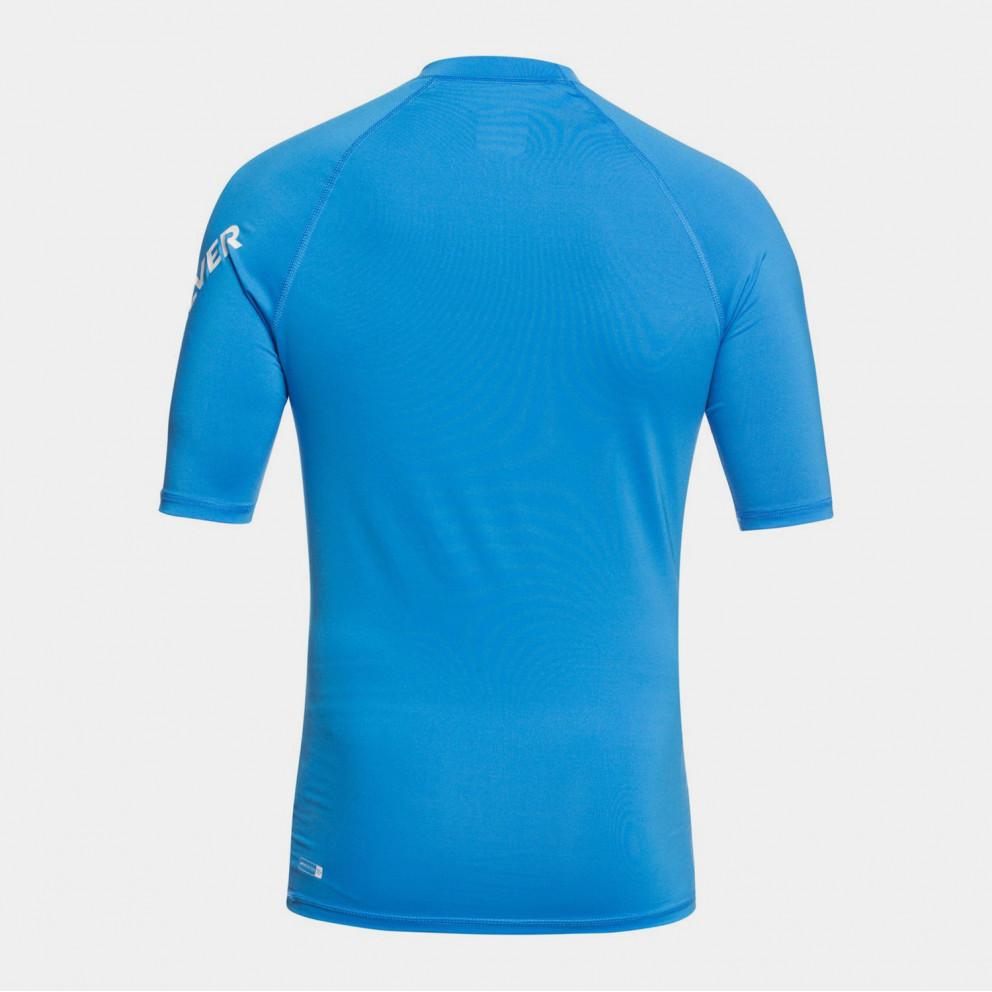 Quiksilver Men's All Time Short SLeeve Upf 50 Rash Vest
