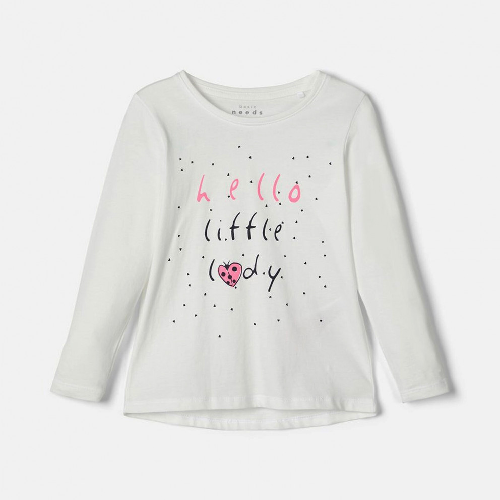 Name it Loose Fit Long-SLeeve Girls' T-Shirt