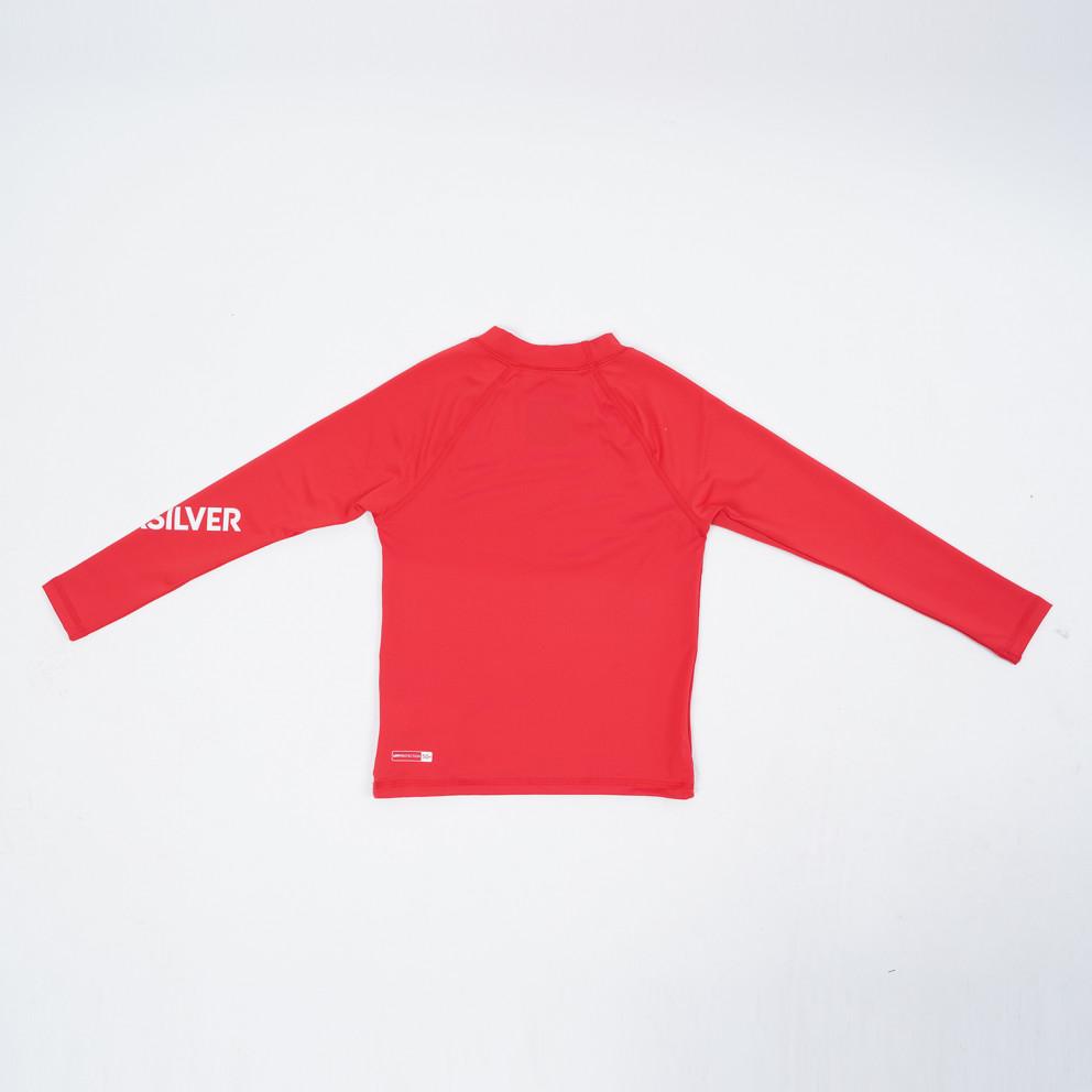 Quiksilver Kids' Long SLeeve Upf 50 Rash Vest