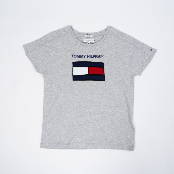 Tommy Jeans Fun Graphic Flag Kids' Tee