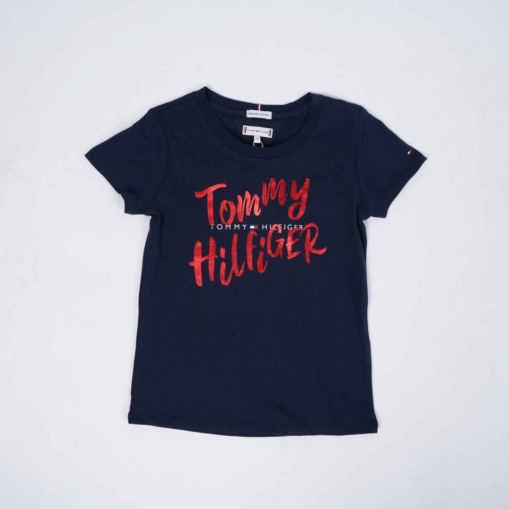 Tommy Jeans Double Graphic Logo Βρεφική Μπλούζα