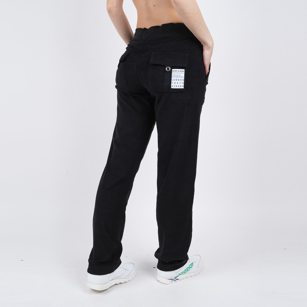 Body Action Women's Basic Terry Pants