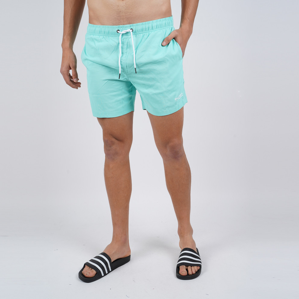 Body Action Men's Mid-Length Swim Shorts