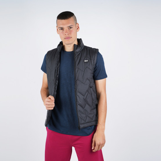 Body Action Men's Puffy Vest